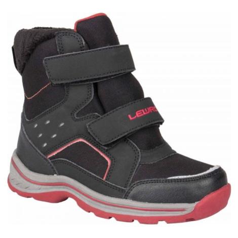 Lewro CRONUS černá - Dětská zimní obuv