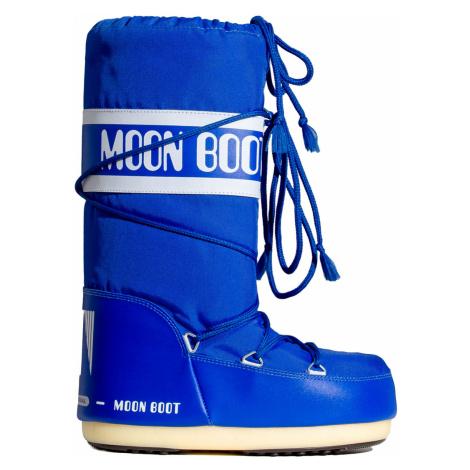 Sněhule Moon Boot JR NYLON modrá