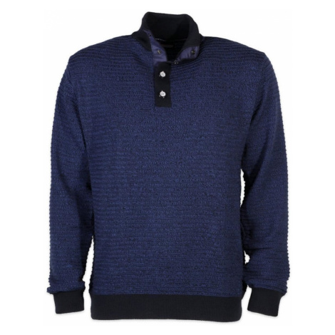 Pánský svetr Troyer Willsoor 7522 v modré barvě