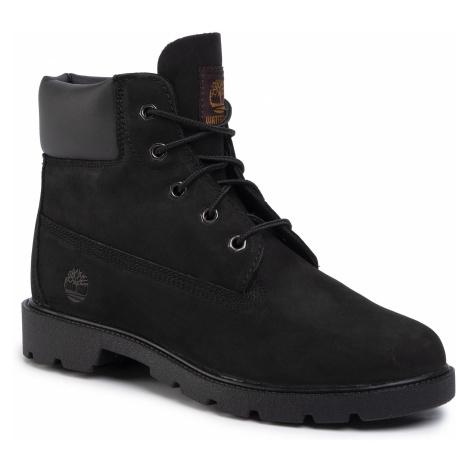 Turistická obuv TIMBERLAND - Classic 6 In W Terproof Boot TB0109100011 Black Nubuck