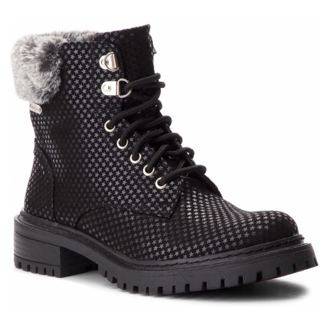 Turistická obuv PEPE JEANS - Collie Sky PLS50337 Black 999