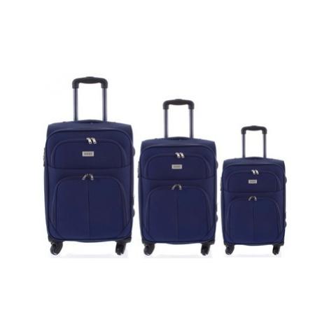 Ormi Cestovní kufr modrý sada - Tessa S, M, L Modrá