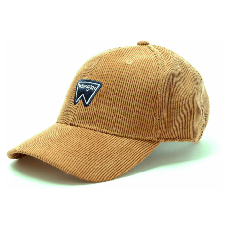 Kšiltovka Wrangler Corduroy Cap hnědá