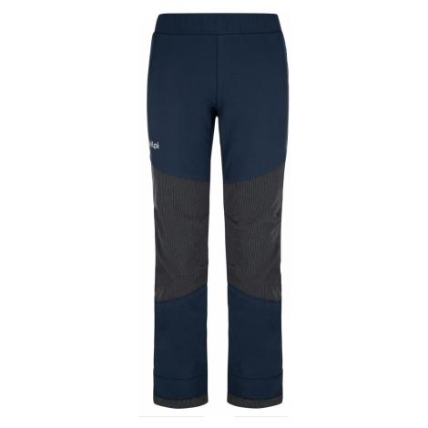 KILPI Dětské softshellové kalhoty RIZO-J NJ0012KIDBL Tmavě modrá