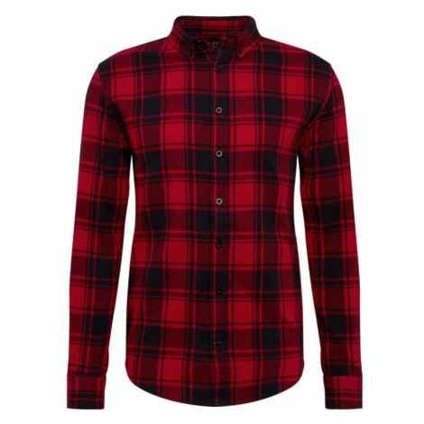 Denim Project Košile 'Check Shirt' červená