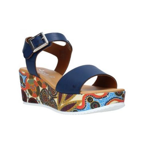 Grace Shoes 03 Modrá