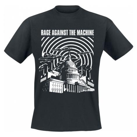 Rage Against The Machine Warzone Tričko černá