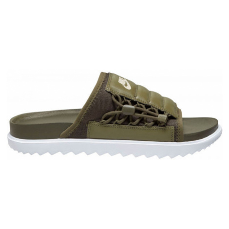 Nike ASUNA SLIDE tmavě zelená - Pánské pantofle