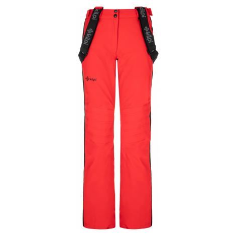 KILPI Dámské lyžařské kalhoty HANZO-W NL0082KIRED Červená