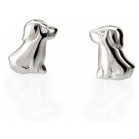 Linda's Jewelry Stříbrné náušnice Pes Pecky IN091