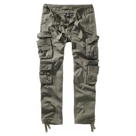 Brandit Kalhoty Pure Vintage II Cargo kalhoty olivová