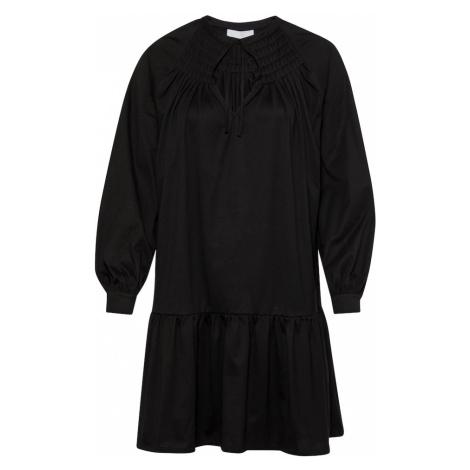 BOSS Casual Košilové šaty 'Eleani' černá