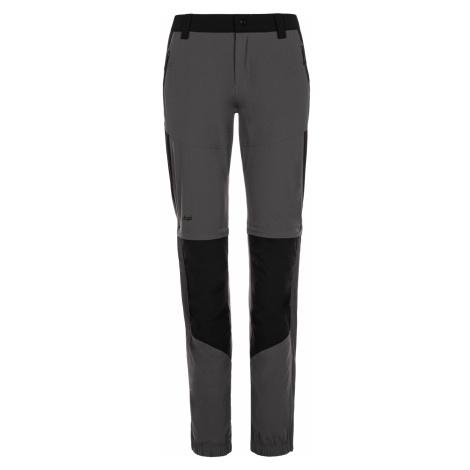 KILPI Dámské outdoorové kalhoty HOSIO-W ML0022KIDGY Tmavě šedá
