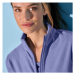 Blancheporte Mikina z polar fleecu, dlouhé rukávy fialová