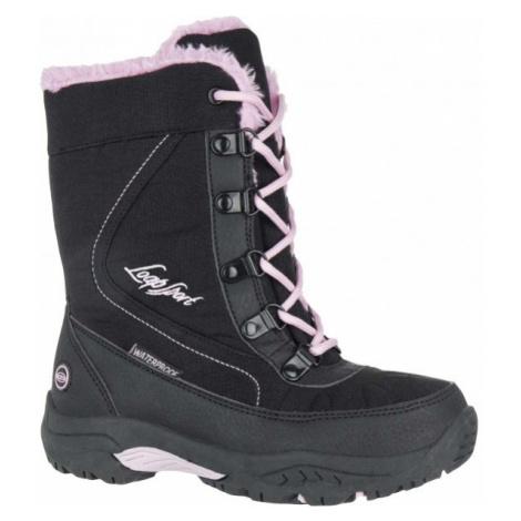Loap ICE KID růžová - Dětská zimní obuv