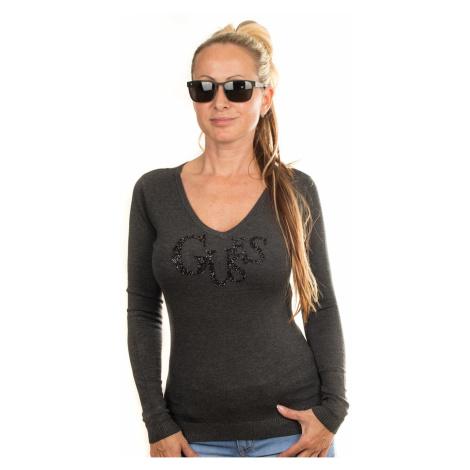 Guess dámský svetr černý s flitry