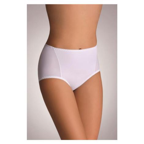 Dámské stahovací kalhotky Eldar Velvet bílé   bílá