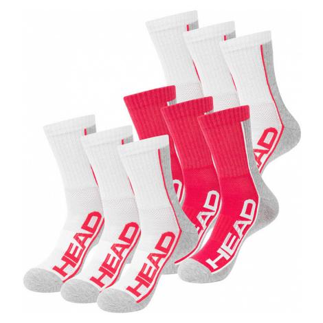 Dámské barevné ponožky HEAD