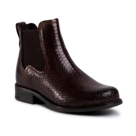 Kotníkové boty Lasocki OCE-DESA-12 Přírodní kůže (useň) - Lícová