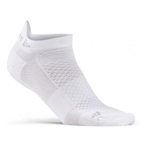Ponožky CRAFT Shaftless 2-pack bílá