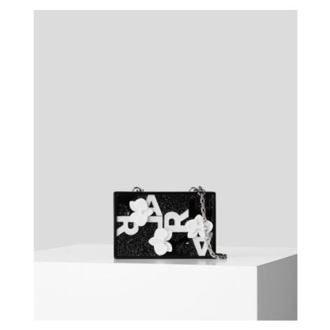 Kabelka Karl Lagerfeld Karl 3D Orchid Minaudiere