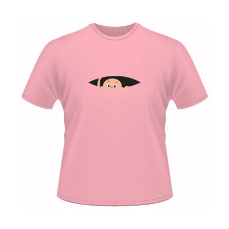 Pánské tričko na tělo Miminko v břiše