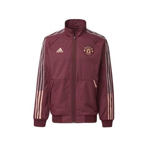 Adidas Bunda Manchester United Anthem Červená