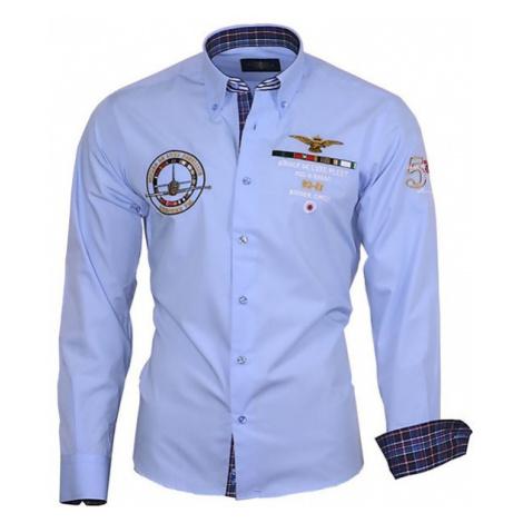 BINDER DE LUXE košile pánská 82106 s dlouhým rukávem