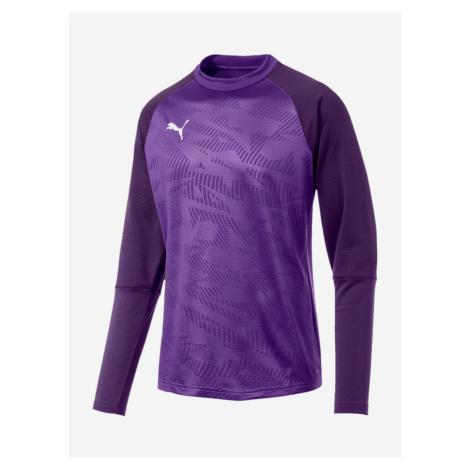 Tričko Puma Cup Training Sweat Core Fialová