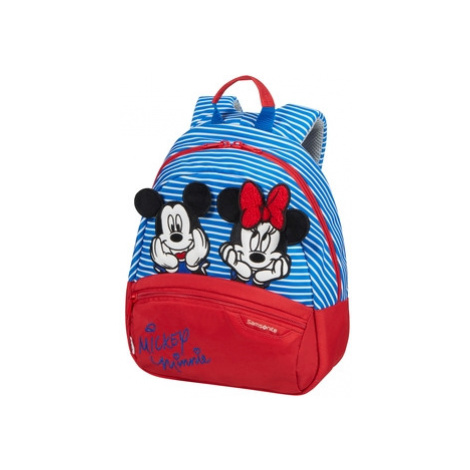 SAMSONITE Dětský batoh Disney Ultimate 2.0 Minnie/Mickey Stripes, 24 x 14 x 29 (131849/8705)