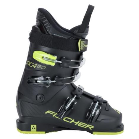 Fischer RC4 60 JR černá - Juniorské lyžáky