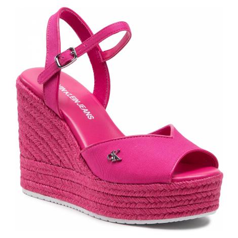 Calvin Klein Jeans Wedge Sandal Ankle Strap YW0YW00121