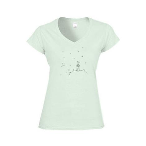 Dámské tričko V-výstřih Malý princ