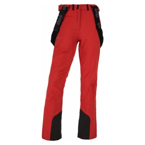 KILPI Dámské softshellové kalhoty RHEA-W JL0907KIRED Červená