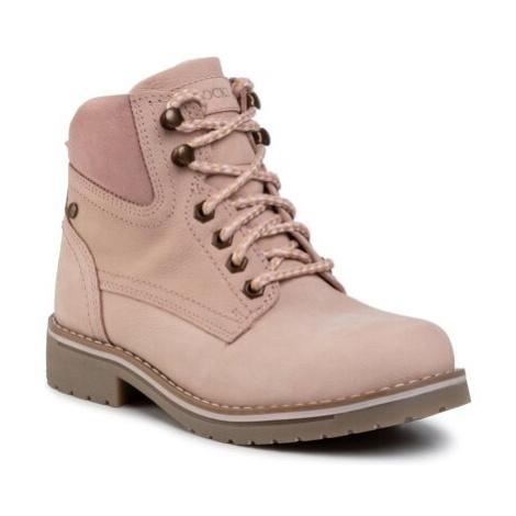 Šněrovací obuv Lasocki WI21-218134 Přírodní kůže (useň) - Semiš