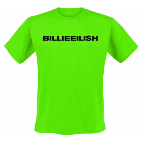 Eilish, Billie Logo tricko limetka