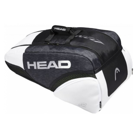 Head DJOKOVIC 9R SUPERCOMBI bílá - Tenisový bag