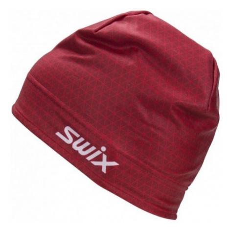 Swix RACE WARM červená - Unisex teplá závodní čepice