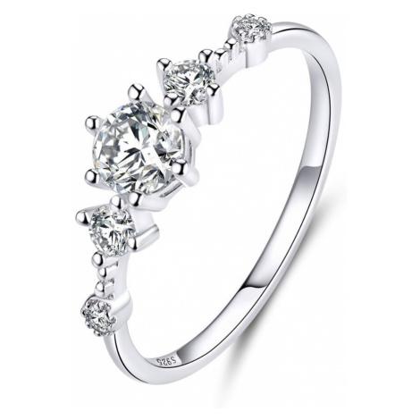 Linda's Jewelry Stříbrný prsten Hvězda Lásky Ag 925/1000 IPR080 Velikost: 52