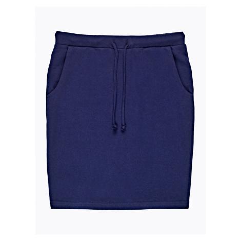 GATE Jednoduchá sukně s kapsami