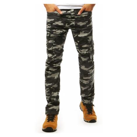Dstreet Senzační maskáčové kalhoty