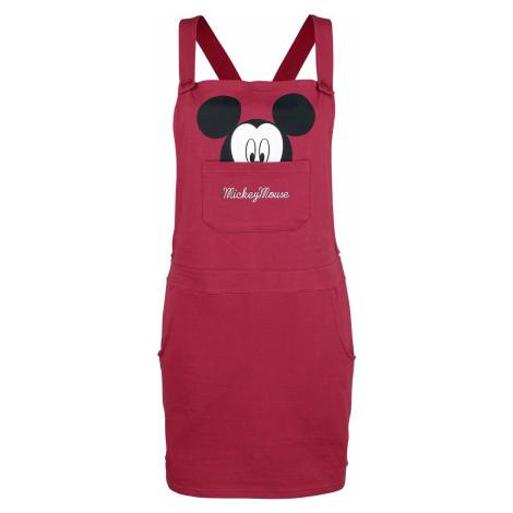 Mickey & Minnie Mouse Face Šaty bobulová