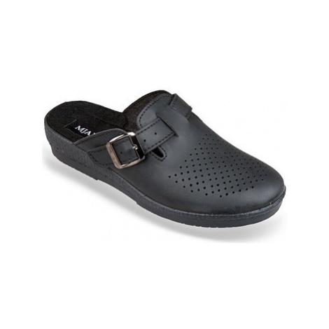 Mjartan Dámske čierne papuče ANDREJKA Černá