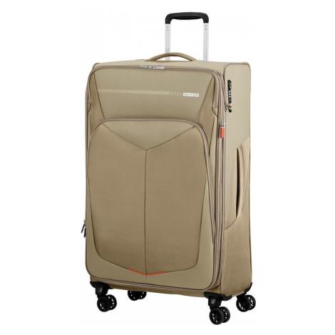 American Tourister Cestovní kufr Summerfunk Spinner EXP 78G 109,5/119 l - béžová