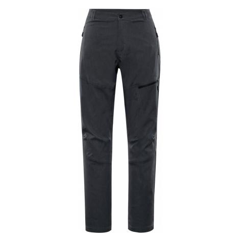 ALPINE PRO MURIA 4 Dámské softshellové kalhoty LPAP341990 černá