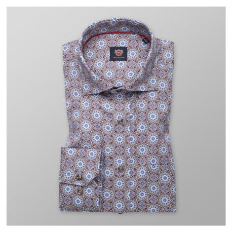 Pánská košile klasická s orientálním vzorem 11175 Willsoor
