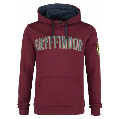 Harry Potter Gryffindor - Logo mikina s kapucí bordová
