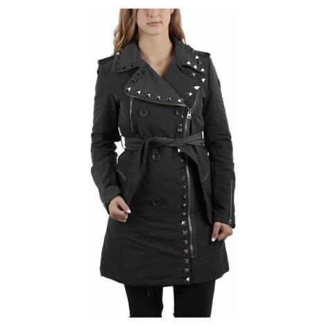 Šedý zateplený kabát - REPLAY