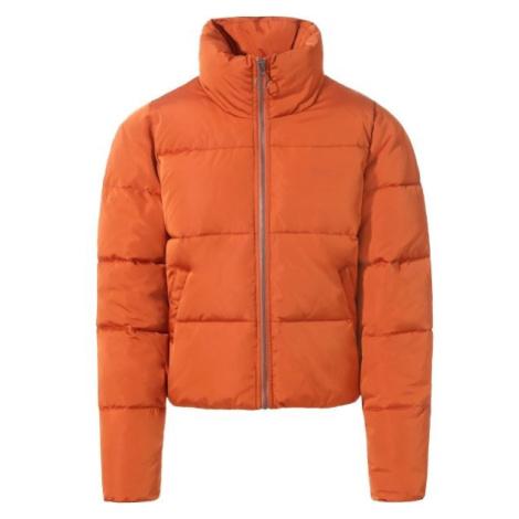 Vans WM FOUNDRY PUFFER oranžová - Dámská zimní bunda