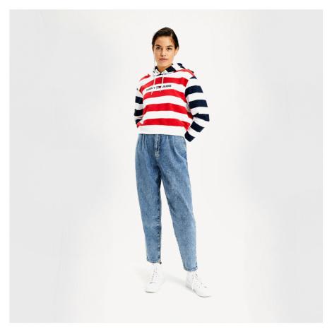 Tommy Jeans dámská mikina Multistripe Tommy Hilfiger